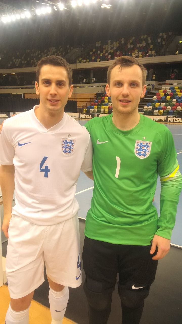 With James England v Sweden Feb 2015