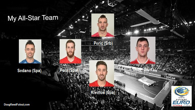 All Star Squad Euro 2016 Doug Reed