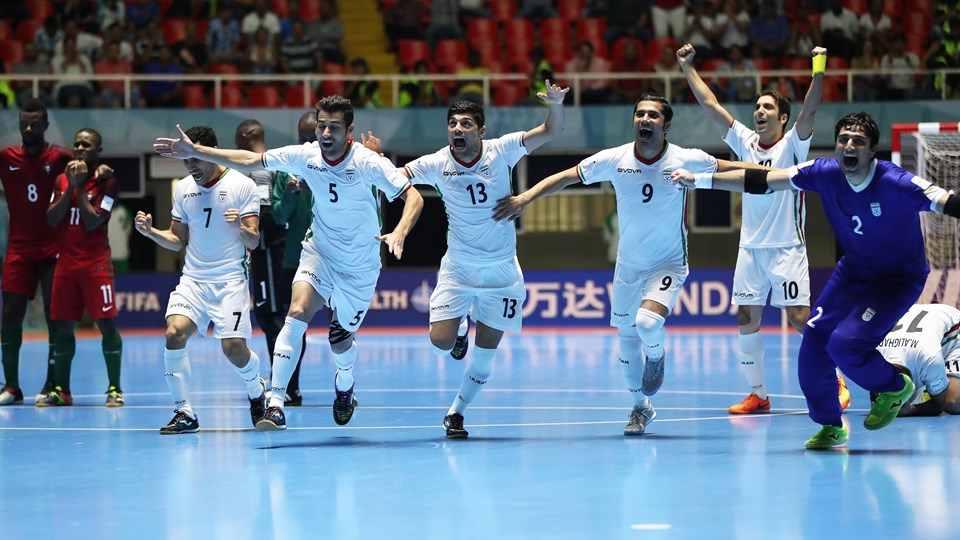 Iran celebrate Asia's first nation to reach the podium