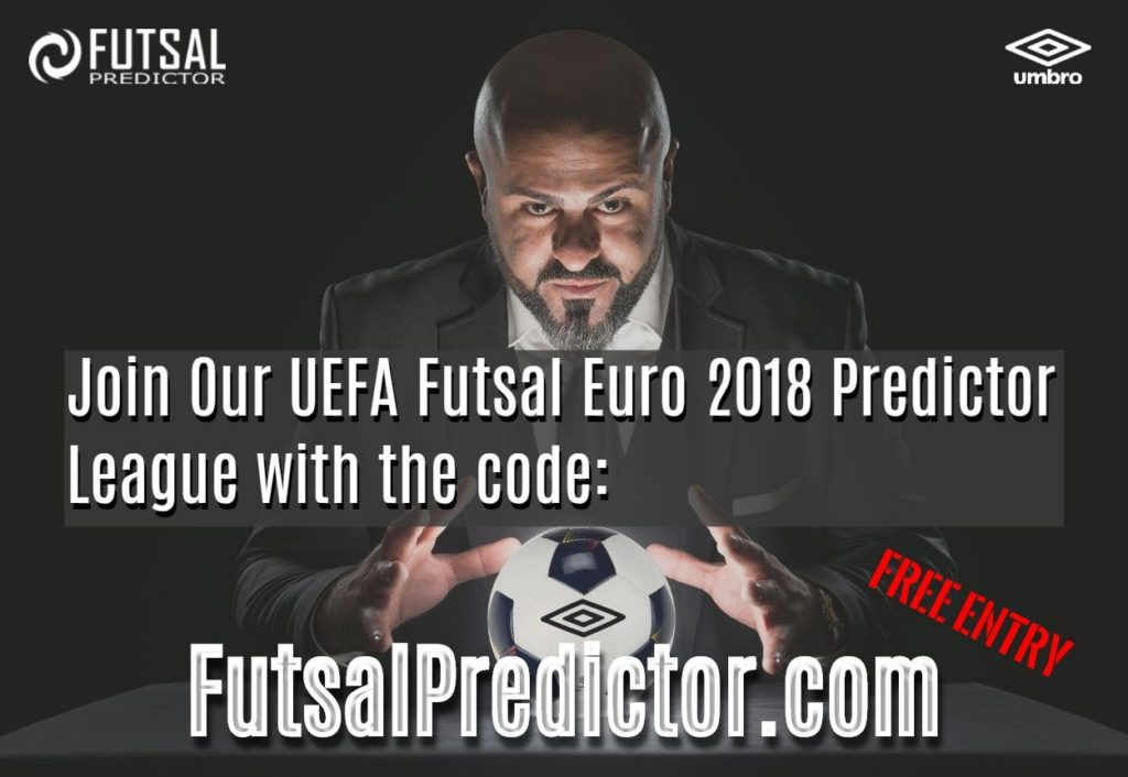 Poster For Futsal Predictor Share Code