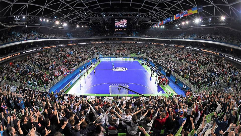 SLovenia, UEFA Futsal Euro 2018 FulL Crowd