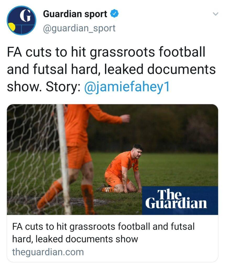 Guardian Futsal Leaked report